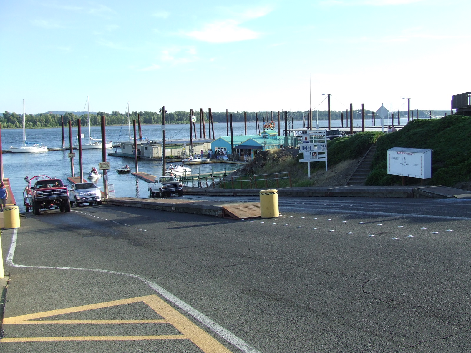 Camas-Washougal Boat Launch Ramp