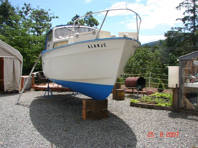 Boat repairs completed